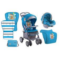 avec siege poussette combinée avec siège auto foxy set lorelli bleu achat