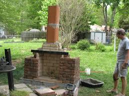 brick outdoor fireplace plans home decorating interior design