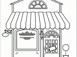 download building coloring page ziho coloring