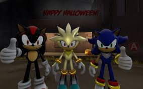 happy halloween from sonic silver and shadow by srx1995 on deviantart