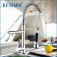 popular kitchen faucets brass buy cheap kitchen faucets brass lots kemaidi contemporary new polished chrome brass kitchen faucet 1 handel vessel swivel mixer tap pure water