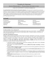 Best Resume Examples For Project Managers by Real Estate Developer Resume Sample It Resume Cover Letter Sample