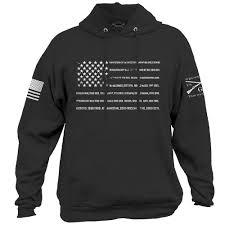 American Flag Hoodies For Men Grunt Style Veteran Hoodie Men U0027s Streetware