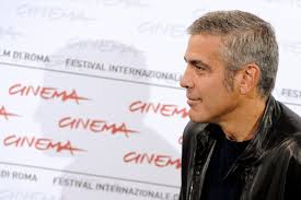 60 year old man hairstyle george clooney salt and pepper hair
