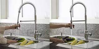 kitchen faucet with spray standard 4332 350 002 pekoe semi professional single