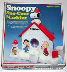 summer snoopy u2013 snoopy sno cone machine totally 80s