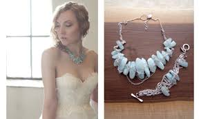 turquoise bridal earrings bridal style trends on onewed