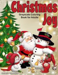 christmas joy coloring book adults kids coloring