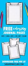 free printable coloring journal pages sarah renae clark