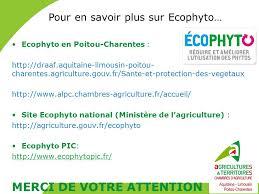 chambre d agriculture aquitaine phytos et santé des utilisateurs quelles actions en aquitaine