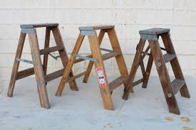 vintage home decore 3 step small ladders for decorating vintage home decor out of stock