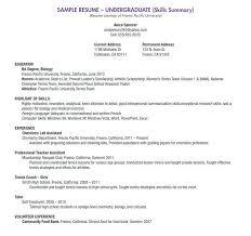 resume for summer job hitecauto us