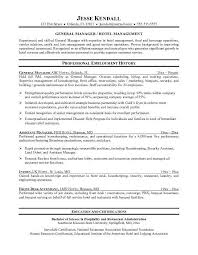 Waitress Sample Resume by Sample Resume Hotel Waiter Templates