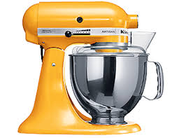 shop online for kitchenaid mixer pro ksm150 yellow pepper in israel