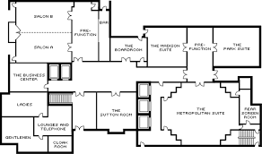 room floor plan event space nyc midtown function rooms four seasons