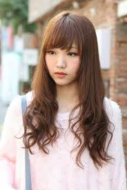 picture of korean long hairstyle popular long hairstyle idea