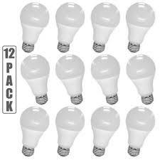 10 Feit 100w Equivalent LED Daylight Light Bulbs 15 Watts 5000k
