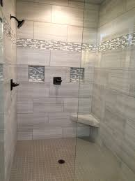 Shower Designs Images by Tile In Shower Stall Maax Insight 34 1 2 In To 36 1 2 In W