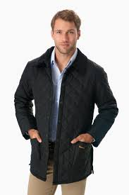 barbourmen s olive powell quilted jacket tuckernuck
