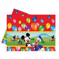 Mickey Mouse Table by Mickey Mouse Partytime Table Cover Disney From All You Need To