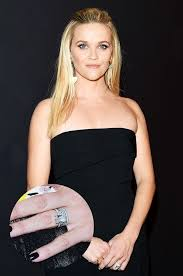 reese witherspoon engagement ring 9 with the prettiest classic engagement rings whowhatwear
