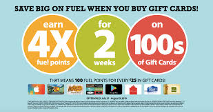fred meyers gift registry fred meyer kroger fuel rewards 4x points