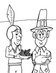 coloring interesting first thanksgiving coloring pages