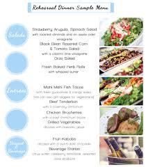 wedding menus christian u0027s catering