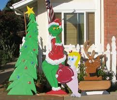 Grinch Christmas Yard Decoration Pattern