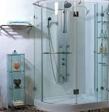 Glass Of Bath Rack For Bathroom - Glass bathroom