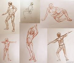 anatomy sketches by katemaxpaint on deviantart