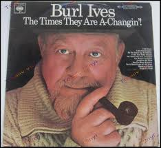 totally vinyl records ives burl the times they are a changin lp