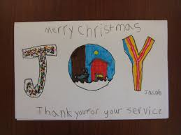 christmas cards for veterans teachkidsart