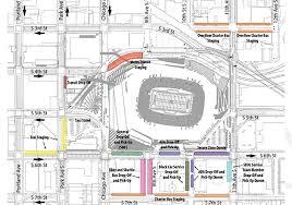 map us bank stadium transportation plan vikings tailgate options announced