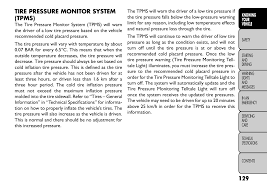 Fiat Freemont Specs Tire Pressure Monitor System Tpms Fiat Freemont User Manual