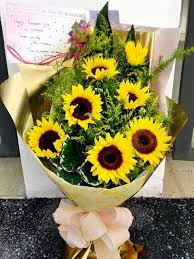 sunflower delivery sunflower free sunflower delivery service across ipoh region
