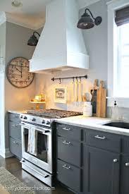 wolf range hood pale neutral kitchens view of niche with wolf