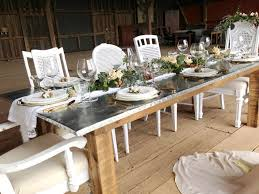 zinc table something vintage rentals