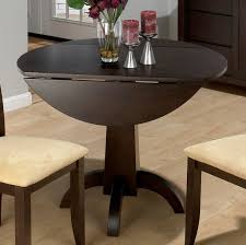 Drop Leaf Dining Table For Small Spaces Kitchen Marvelous Round Kitchen Table With Leaf And Chairs