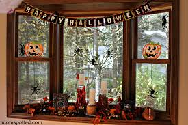 thrifty halloween mantel fun frugal ideas for decor with yellow