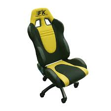 Racing Office Chairs Yellow Race Car Office Chair Race Car Office Chair Very Sporty
