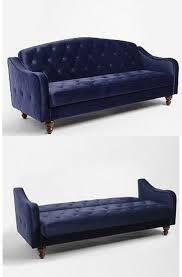 Blue Sleeper Sofa Fabulous Velvet Sleeper Sofa Coolest Home Renovation Ideas With