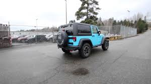 light blue jeep wrangler 2 door 2017 jeep wrangler rubicon chief clearcoat hl570279 redmond