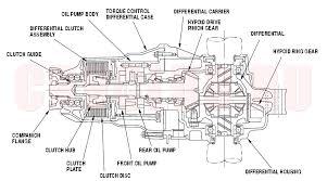 rear differential honda crv system description15 3