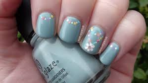 awesome easy flower nail designs to do at home ideas trends