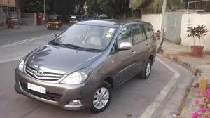 top toyota cars buy used 2010 toyota innova v 7 str top in mumbai youtube