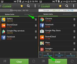 android cache how to clear android cache ubergizmo