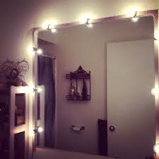 battery operated vanity lights diy vanity lighting with a string of bulbs and electrical cord