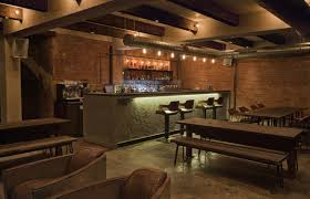 glamour nuance industrial bar design ideas with wide bar table has