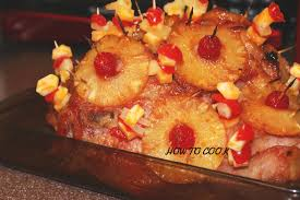 recipe for thanksgiving ham with pineapple how to make jamaican baked honey ham with cheese christmas recipe